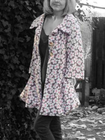 Spring coat – New Look pattern 6736 – Sew Different