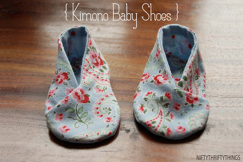 MY SEWING PROJECTS – Baby booties & trousers – Sew Different