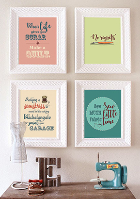 Wall Art for Sewists – Exclusive to Sew Different