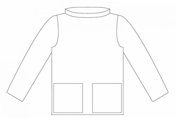 artists smock free sewing pattern