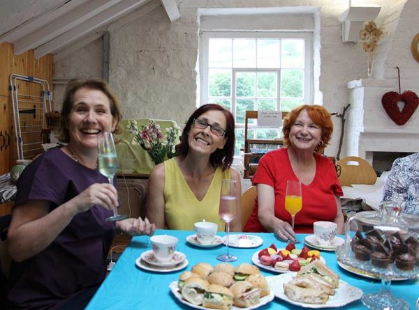 afternoon tea sewing retreat