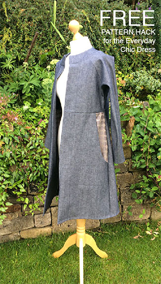 Everyday Chic Jacket – FREE pattern hack for the Everyday Chic Dress