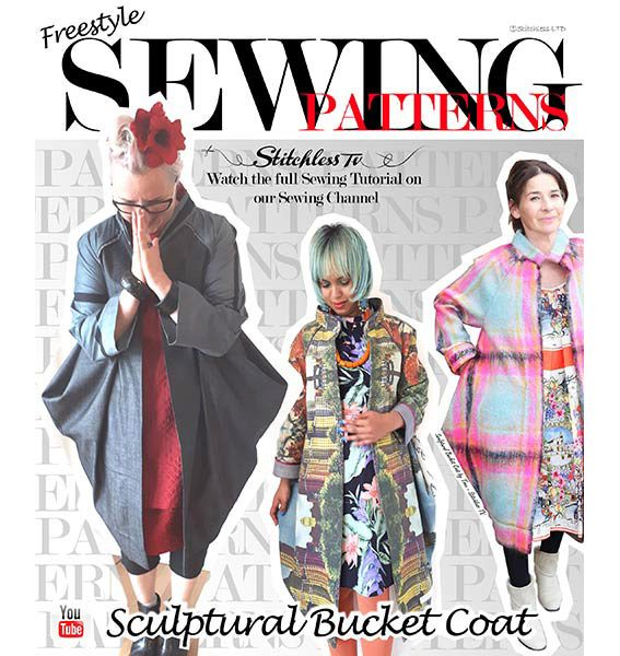 Sculptural Bucket Coat – A unique release from Stitchless TV – Sew ...