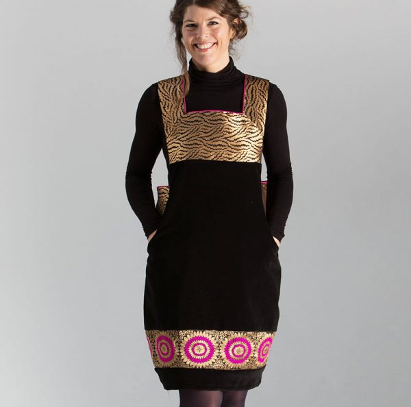 velvet pinafore sewing pattern