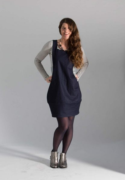 pinafore sewing pattern for women