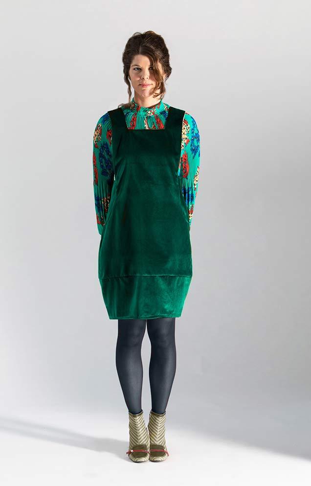 green velvet sewing pattern