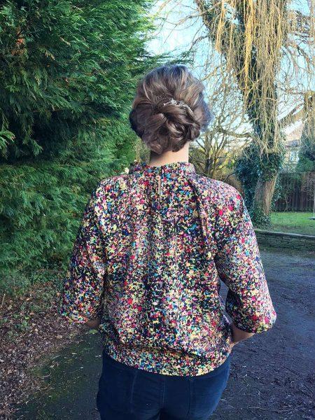 Ruffle Top - FREE single size sewing pattern » BERNINA Blog